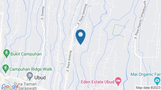 Kamandalu Ubud Map