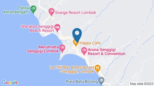 Mandiri Senggigi Homestay Map