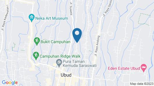 The Purist Villas & Spa Map