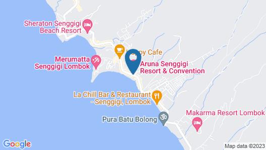 Aruna Senggigi Map
