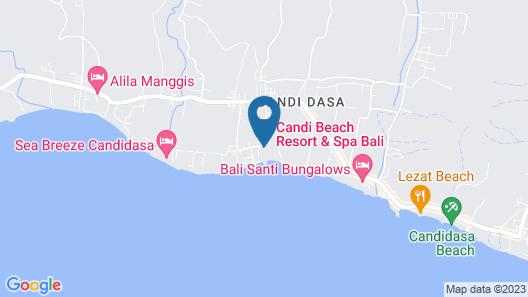 Candi Beach Resort and Spa Map