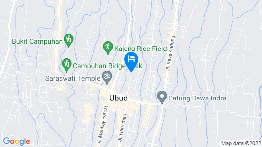 Suparsa's Home Stay Map