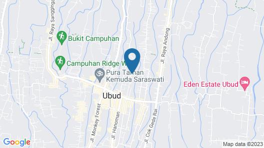 Graha Sandat Villas Map