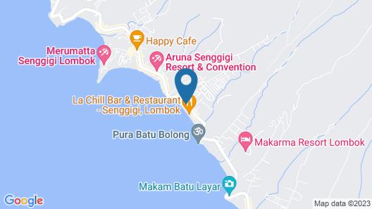 Cafe Wayan & Cottages Map