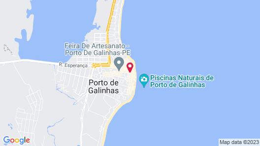Belas Praias Apart Hotel Map