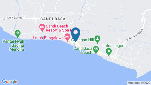 Bali Palms Resort Map