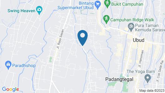 Pondok Naya Map