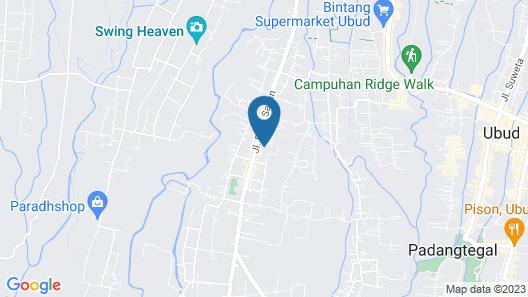 The Samaya Ubud Map
