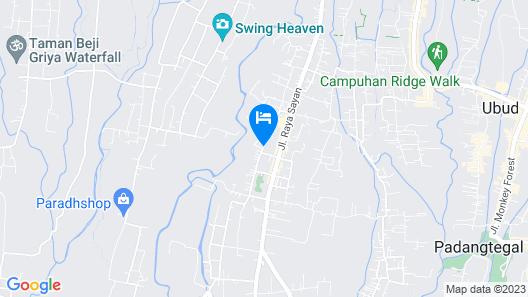 Kayumanis Ubud Private Villas & Spa Map