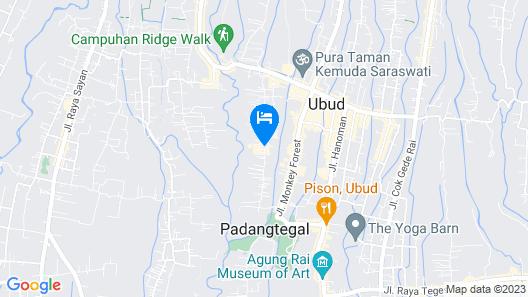 Goya Boutique Resort Map
