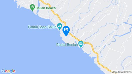 Villa Ronggo Mayang Bali Map