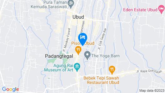 Teba House Map