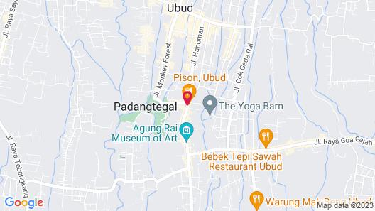 Alaya Ubud Map