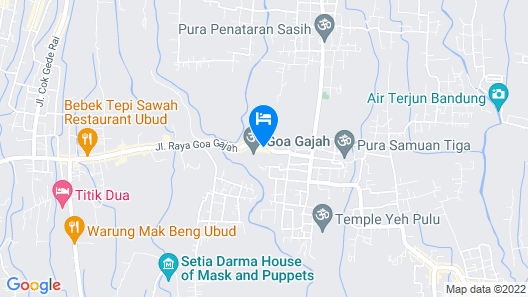 Nuaja Balinese Guest House Map