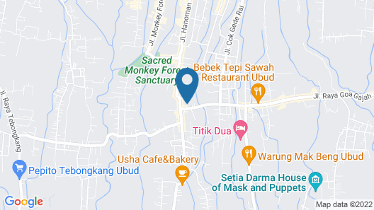 Manggis Sari Guest House Map