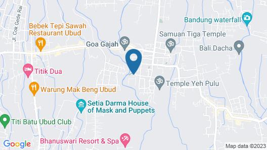 Ubud Dedari Villas Map