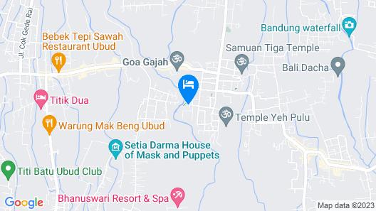 Dedary Kriyamaha Ubud by Pramana Map