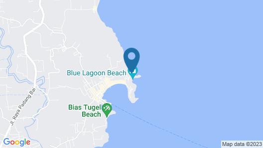 Bloo Lagoon Eco Village Map