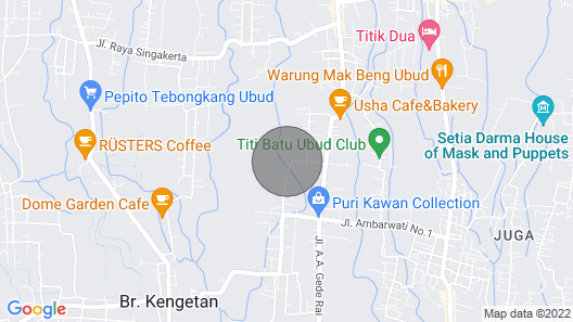 Chai T House by the Rice Fields Map
