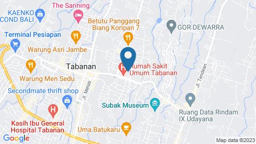 Umah Hijau Tabanan Map
