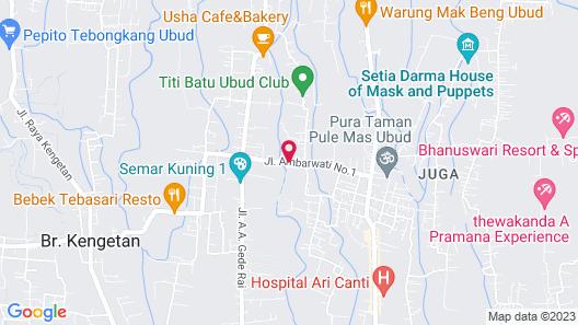 Soulshine Bali Map