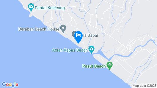 Abian Bali Beach House by The Kunci Map