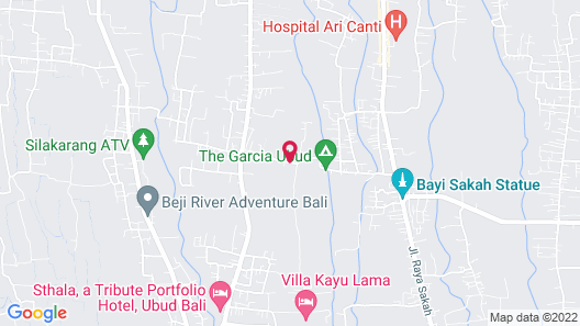 Ubud Nyuh Bali Resort & Spa Map