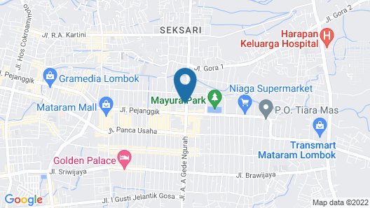 Hotel Kautaman Map