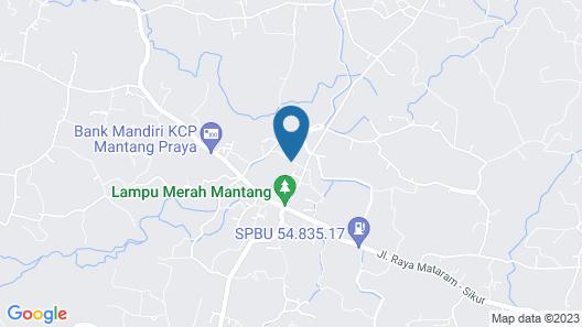 Verve Villa Senggigi Map