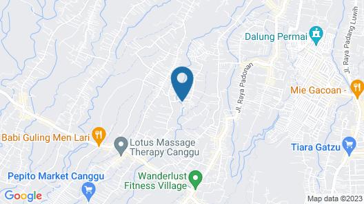 BB Hostel Canggu Map