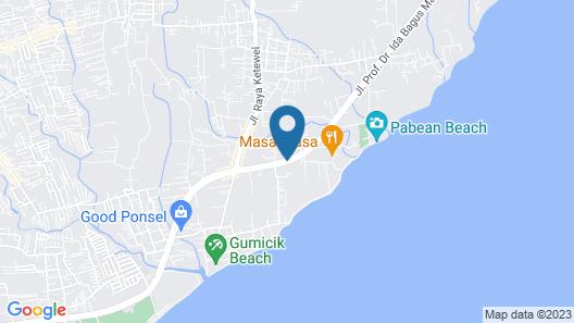 Villa Samudra Map
