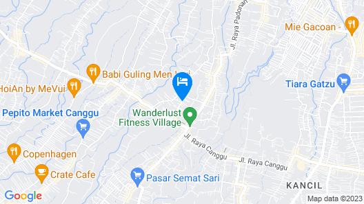 Canggu Dream Village Map
