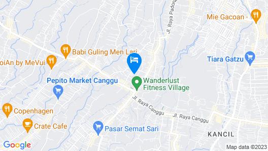 Canggu Villa & Cooking Retreat Map