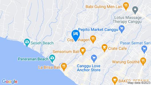 Kutus Kutus Canggu Villa Map