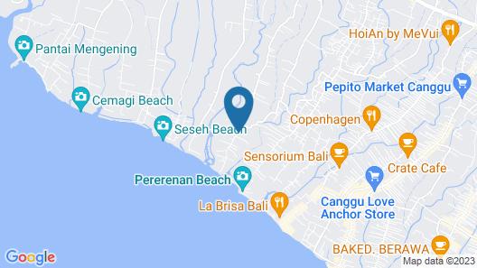 Villa Alisha Pererenan Map