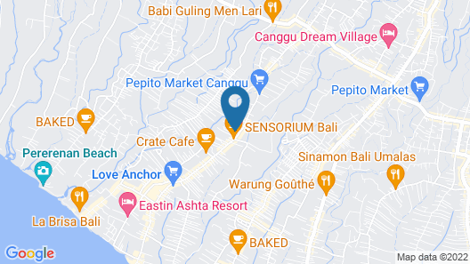Theanna Eco Villa and Spa Map