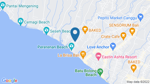 Hacienda Bali Map