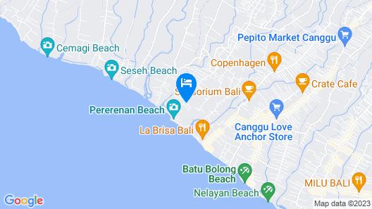 Shore Amora Canggu Map