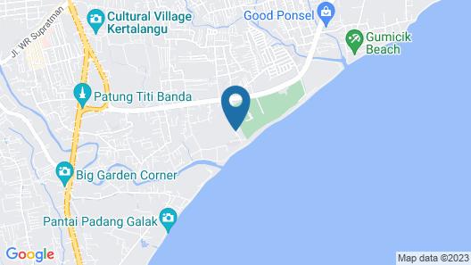 Pandawa Beach Villas & Spa Map