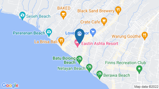 Echoland Bed & Breakfast Map