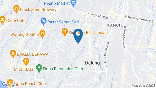 Jay's Villas Map
