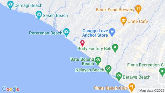 COMO Uma Canggu Map