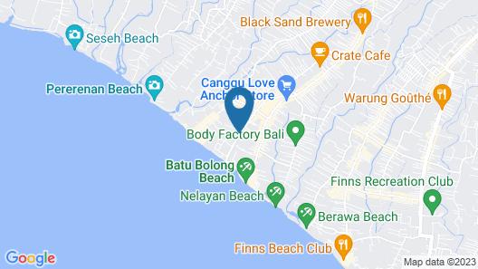 Eastin Ashta Resort Canggu Map