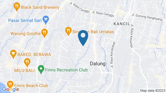 Bali Merita Villa Map