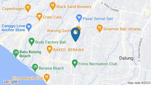 Ons Canggu Map