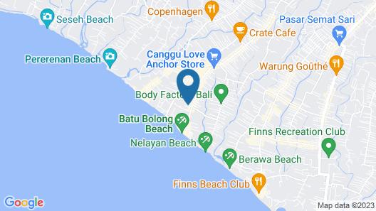 Canggu Beach Apartments Map