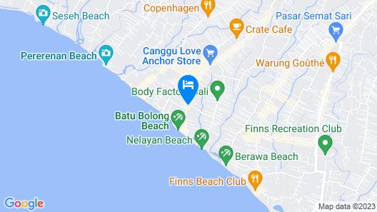 Ametis Villas Map