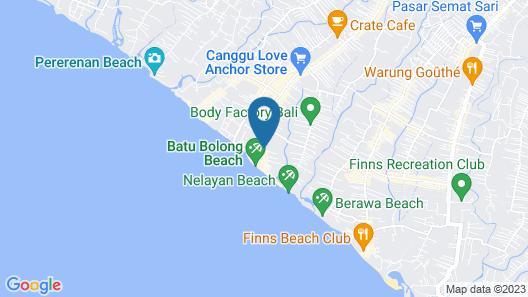 Hotel Tugu Bali Map