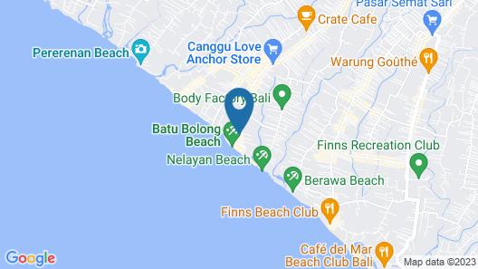 Aston Canggu Beach Resort - Bali Map