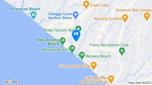 ZIN Canggu Resort & Villas Map